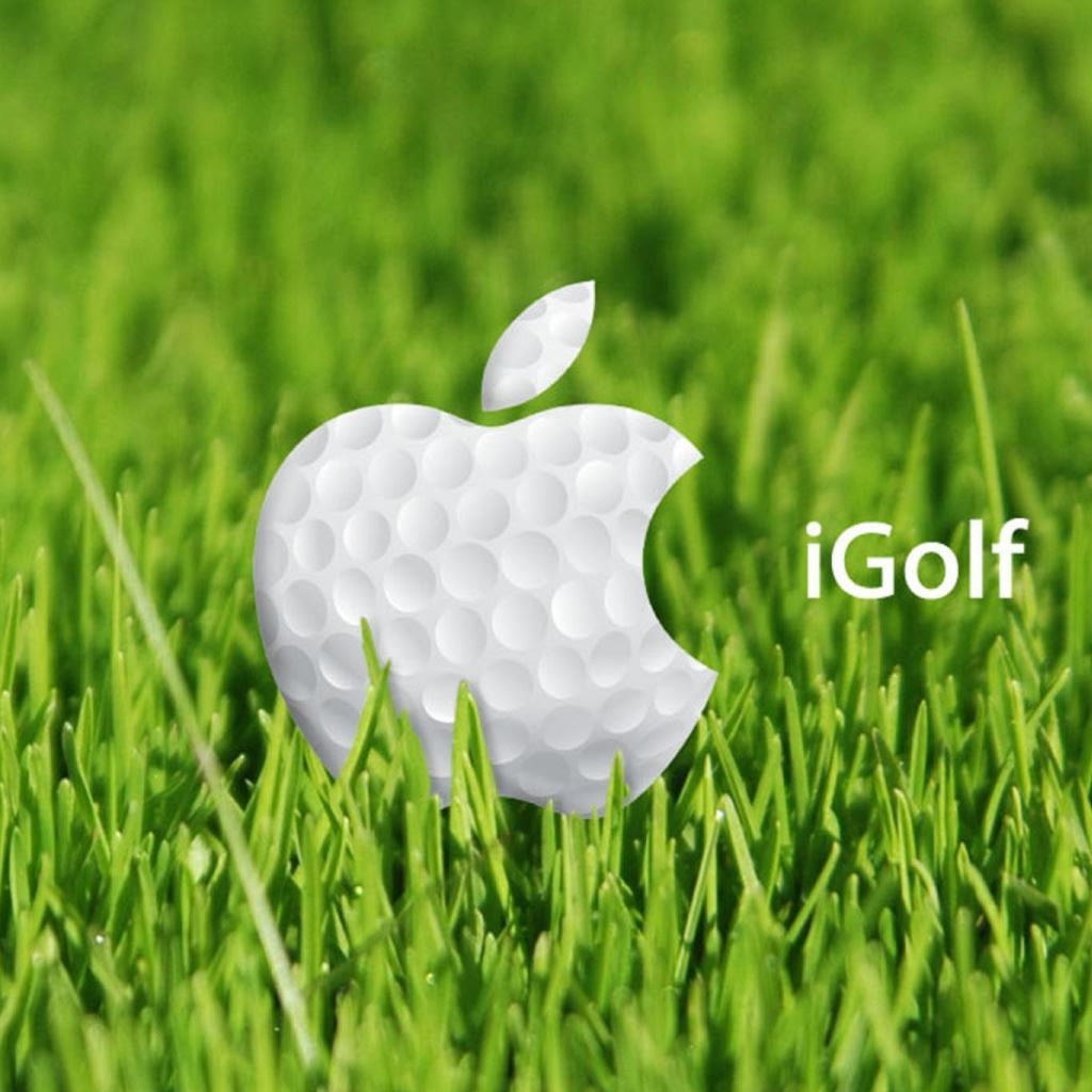 Apple Golf IPad Wallpaper