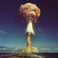 Atomic Bomb iPad wallpaper