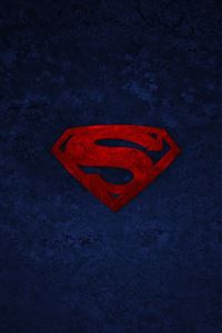 Superman Logo iPhone 4s wallpaper