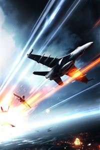 Battlefield 3 Aircrafts iPhone 4s wallpaper