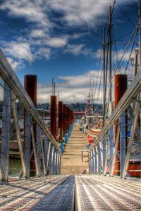 Ship Harbor iPhone 4s wallpaper