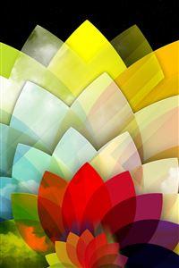 Sky Flower iPhone 4s wallpaper