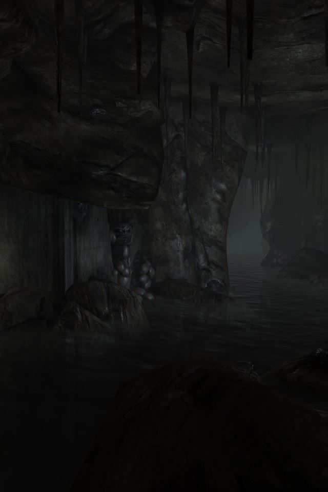 Dark Underground Rivers IPhone 4s Wallpaper