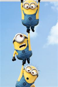 2013 Despicable Me 2 Minions iPhone 4s wallpaper