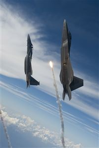 Fighter Jet Flying Towards SKy iPhone 4s wallpaper