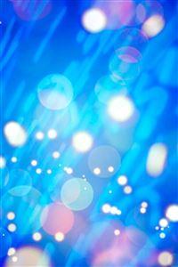 Abstract Glitter Circle Bokeh iPhone 4s wallpaper