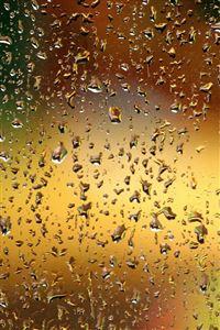 Dew Window Glass Background iPhone wallpaper