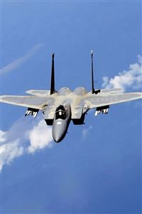 F-15 Eagle Fighter iPhone 4s wallpaper