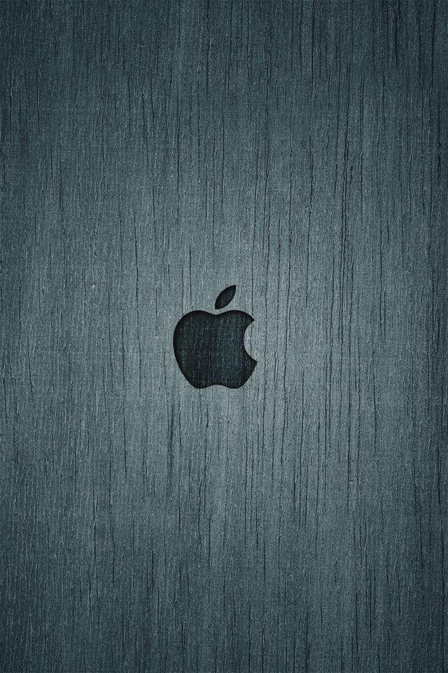 Apple Wood iPhone 4s wallpaper