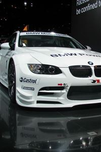 BMW M3 GT2 iPhone 4s wallpaper