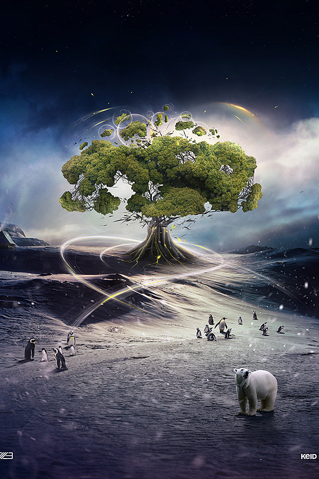 Tree Of Life IPhone 4s Wallpaper