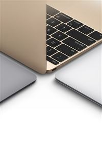 Apple Macbook Gold Silver Slate Gray Art iPhone 4s wallpaper