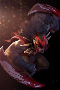 Dota 2 Bloodseeker iPhone 4s wallpaper