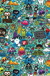 Comics BG iPhone 4s wallpaper