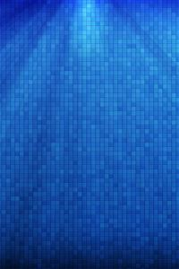 Blue square iPhone 4s wallpaper