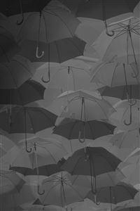 Umbrella Party Dark Pattern iPhone 4s wallpaper