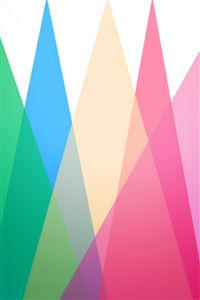Colorful Multi Triangle Geometry Color Gradataion iPhone 4s wallpaper
