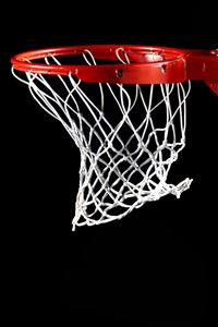 Shoot Basketball Basketry Dark Background iPhone wallpaper