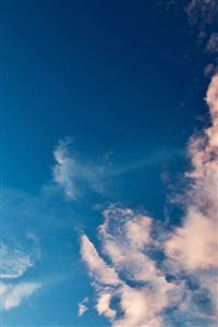 Sky Blue Cloud Sunny Clear Nature iPhone 4s wallpaper