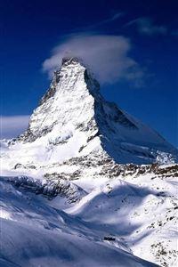 Switzerland Alps Mountains Winter iPhone 4s wallpaper