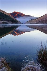 Calm Lake iPhone 4s wallpaper