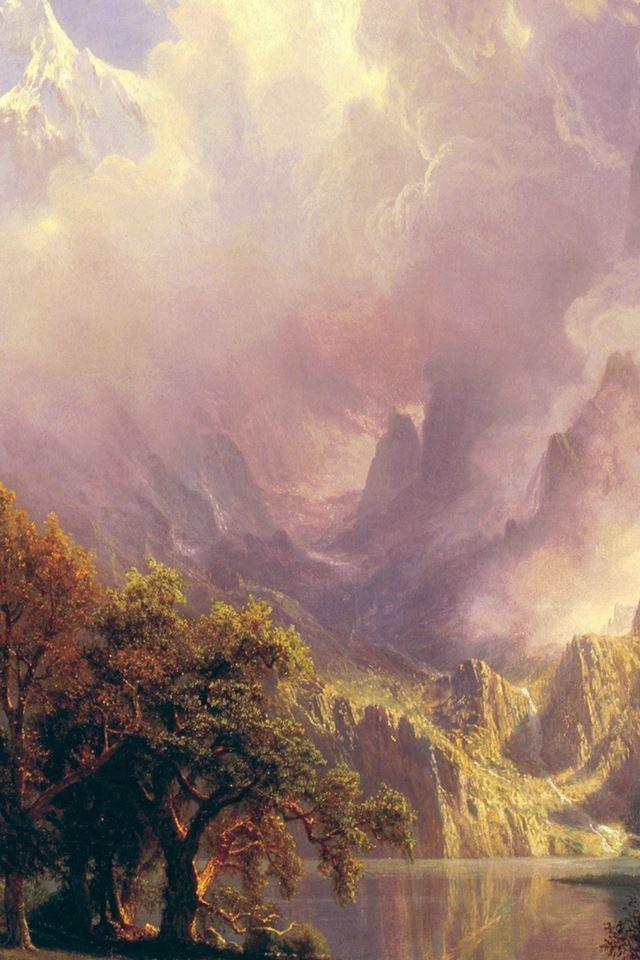 Classic Painting Art iPhone 4s wallpaper