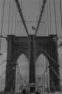 Bridge  Dark Over River City iPhone 4s wallpaper