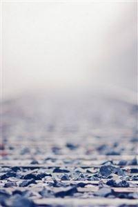 Chaos Rock Railway Bokeh Blur iPhone 4s wallpaper