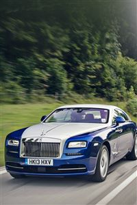 Bentley Blue Drive Car iPhone 4s wallpaper