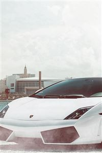 Lamborghini Gallardo Supercar iPhone 4s wallpaper