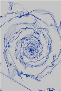 Spiral Dark Blue Digital Art Pattern iPhone 4s wallpaper