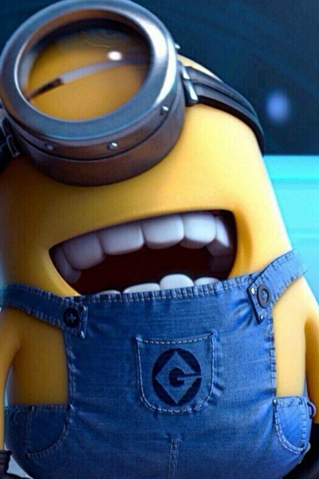 Funny Movie Cartoon Minion IPhone 4s Wallpaper
