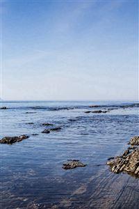 Sea Rock Ocean Beach Nature Summer iPhone 4s wallpaper
