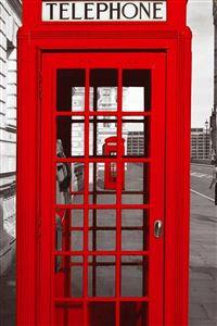 England Street Telephone Station iPhone 4s wallpaper