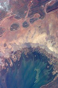 Earthview Satellite Map Sea Land Art Illustration iPhone 4s wallpaper