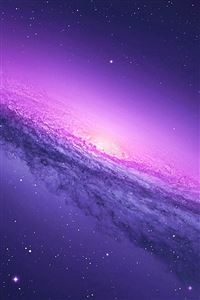 Nature Fantasy Mystery Starry Shiny Nebula Space View iPhone 4s wallpaper