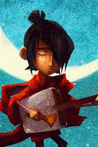 Kubo And The Two Strings Hero Samurai iPhone 4s wallpaper