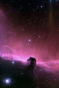 Purple Nebula iPhone 4s wallpaper