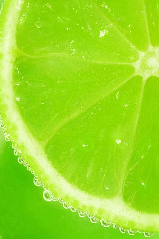 Fresh Lemons Slice Dew iPhone 4s wallpaper