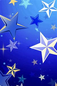 Lots Of Star Pattern Background iPhone 4s wallpaper