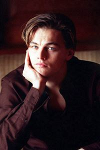 Leonardo Dicarprio Young Actor Celebrity iPhone 4s wallpaper