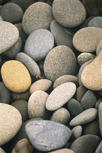 Rocky Pebbles iPhone 4s wallpaper