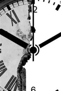 Clock Shape Broken Wall iPhone 4s wallpaper