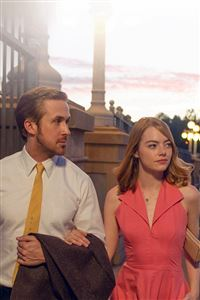 Lalaland Ryan Gosling Emma Stone Red Film iPhone 4s wallpaper