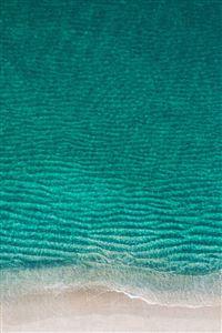 Sea Ocean Green Minimal Nature Wave Earth iPhone 4s wallpaper