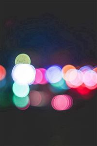 Bokeh Art Light Dark Pattern Color iPhone 4s wallpaper