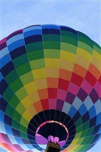 Color Air Balloon Sky Fun iPhone 4s wallpaper