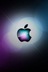 Awesome Apple Logo iPhone 4s wallpaper