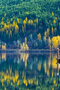 Lake View Wonderful Nature iPhone 4s wallpaper