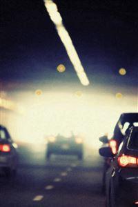 Drive Car City Bokeh Nature iPhone 4s wallpaper